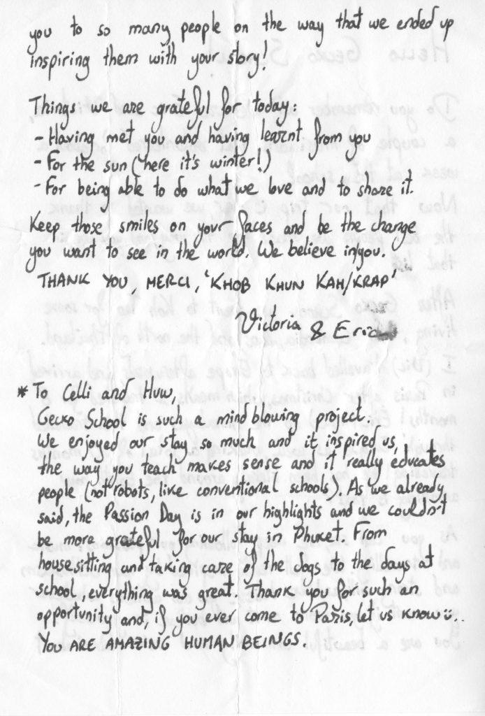 Eric letter 2